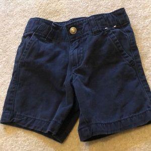 Gymboree navy blue prep fit chino shorts 2t
